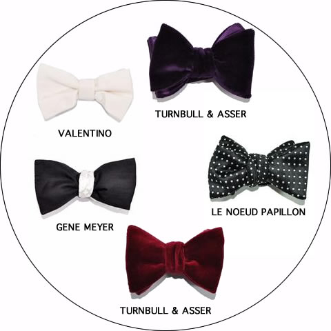 Formal Black Bow Ties